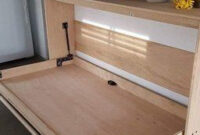 Twin Size Easy Diy Murphy Wall Bed Hardware Kit Horizontal within Bedroom Built In Cabinet Design