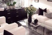 100+ Cozy Living Room Ideas For Small Apartment | Living for Interior Design Living Room Black And White