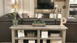 12 Cozy Farmhouse Living Room For Your Family'S Warmth pertaining to Design Centre Table For Living Room