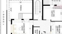 27X36 Ft Best And Latest 2 Bhk House Plan | 3D Home Design inside Design Bedroom Floor Plan
