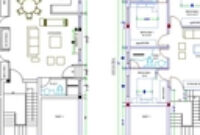 4 Bed Room House Design   3D Cad Model Library   Grabcad within 4 Bedroom House Floor Plan Design