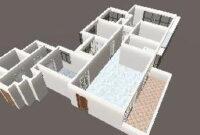 4D Floor Plan throughout Three Bedroom Floor Plan Design