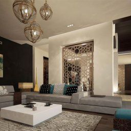 5 Tips For A Successful Modern Arabic Home Design   Moderne with Interior Design Ideas India Living Room