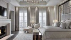 88 Stunning Bedrooms Interior Design With Luxury Touch (With throughout Bedroom Design Modern Contemporary