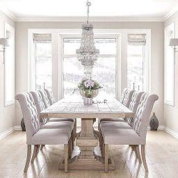 90 Wonderful Elegant Dining Room Design And Decorations intended for Dining Furniture Design