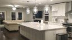 A Clear Glass Shade With A Beautiful, Curved Silhouette regarding Traditional Modern Kitchen Design