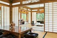 A Residence On Arizona'S Mogollon Rim Features Classic regarding Japanese Style Living Room Interior Design