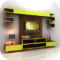 Evening Gown Designs - Apps On Google Play | Tv Wall Shelves inside Lcd Unit Design For Living Room