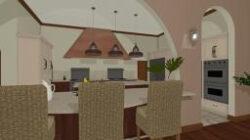 Indian Kitchen Arch Design in Nepali Kitchen Design