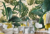 Latest Wall Painting Ideas For Home To Try 13 | Summer inside Tropical Living Room Design Ideas