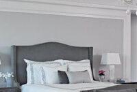 Soft Gray Bedroom | Bedrooms | Luxe Source | Bedroom in Bedroom Electrical Design