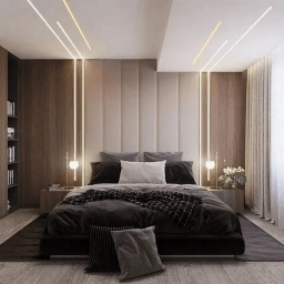 32 Fabulous Modern Minimalist Bedroom You Have To See intended for Master Bedroom Headboard Design