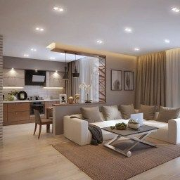 Ideas For The House intended for Bungalow Living Room Design