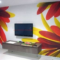 Image Result For Colorful Gallery Wall Ideas   Home Wall inside Latest Wall Painting Design For Bedroom