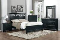 Sanibel 5-Pc. Full Bedroom Set - Black   Black Bedroom for Full Bedroom Design