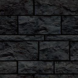 Ice Cube Black Tiles Picture And Wallpaper | Stone Wallpaper within Stone Wall Tiles For Living Room