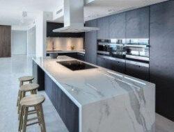 Marble Floor Kitchen Design