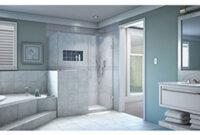 Dreamline Shen-2429183440 Unidoor Plus 47 In. W X 40.375 In. D X 72 In. H  Hinged Shower Enclosure regarding 12' X 16' Kitchen Design