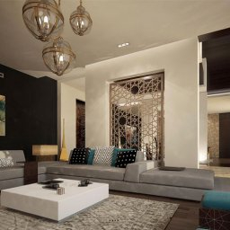 Modern Islamic Interior Design - Cas intended for Simple Clean Living Room Design